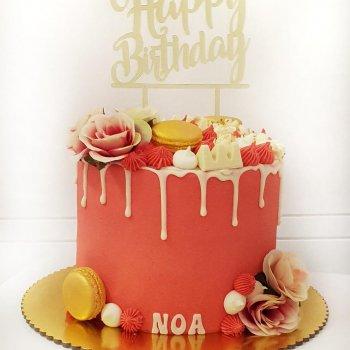 עוגת יום הולדת בהזמנה אישית