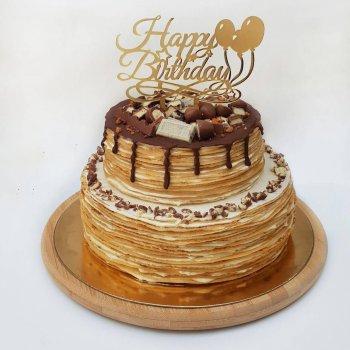 עוגת קרפים וניל