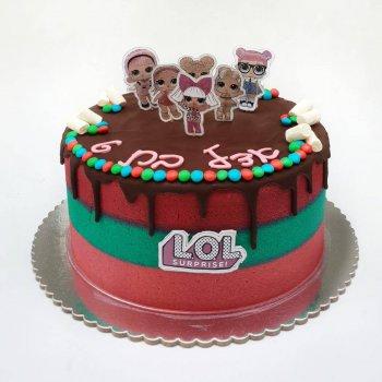 עוגה מעוצבת LOL