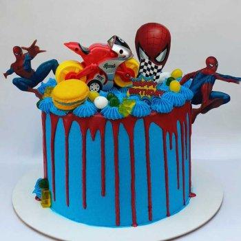 עוגות מעוצבת של ספיידרמן