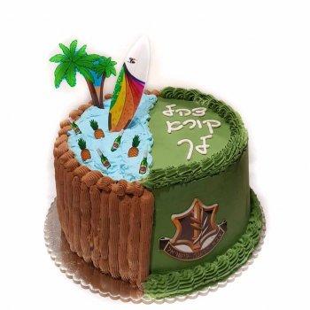 עוגה מעוצבת לגיוס