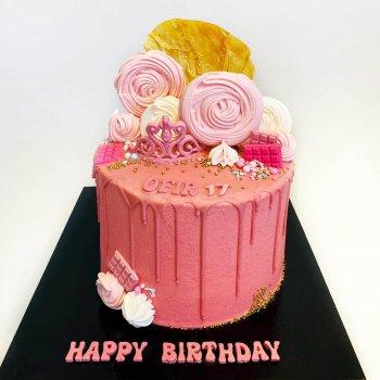 עוגת יום הולדת לנערות